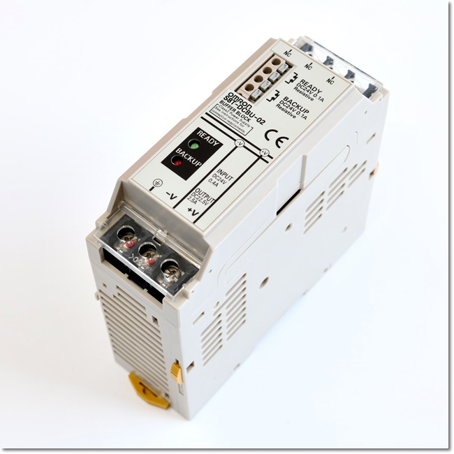S8T-DCBU-02 瞬停対策ブロック DC22.5V 2.5A (OMRON)