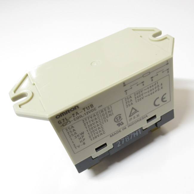 G7L-2A-TUB DC12V  パワーリレー (OMRON)