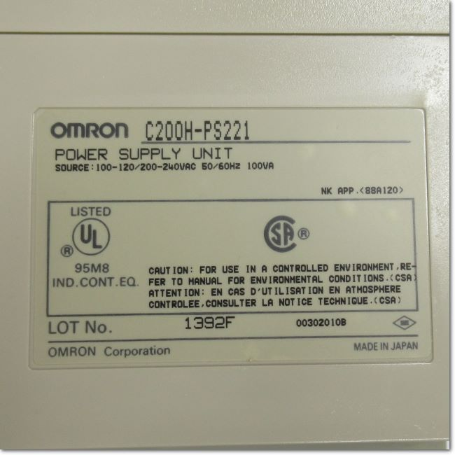C200H-PS221  電源ユニット (OMRON)