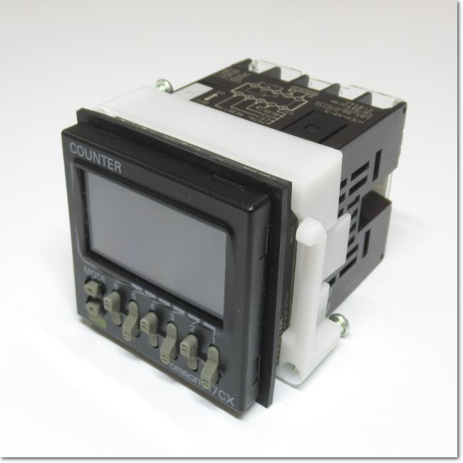 H7CX-AD-N  電子カウンタ DC12〜24V 48×48×65mm (OMRON)